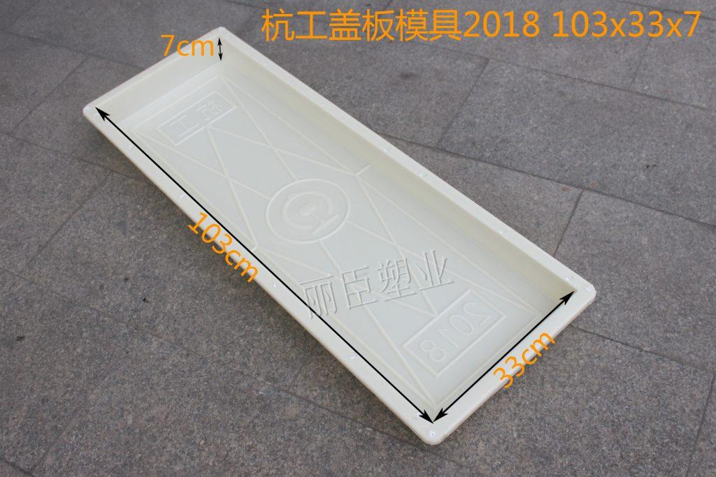杭工盖板塑料模具
