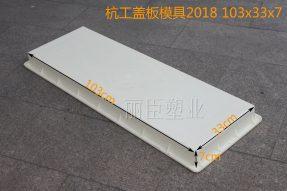 杭工2018水泥高铁盖板模具