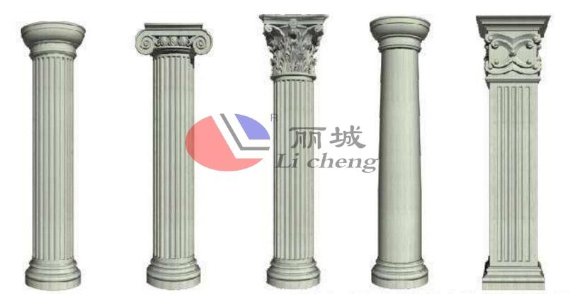 水泥罗马柱样式