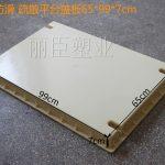 直条纹疏散平台盖板塑料模具