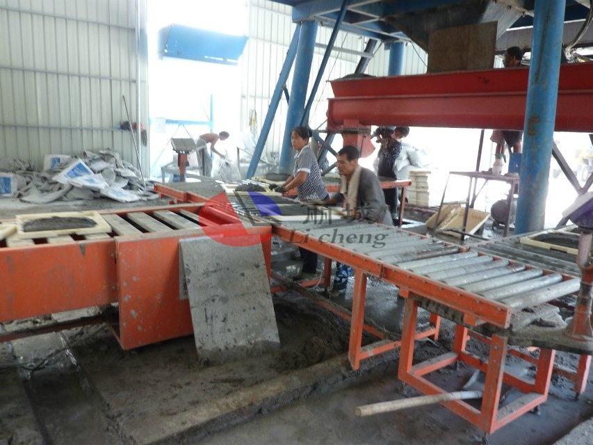混凝土盖板运输过程