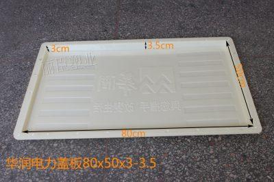 华润电力沟盖板塑料模具