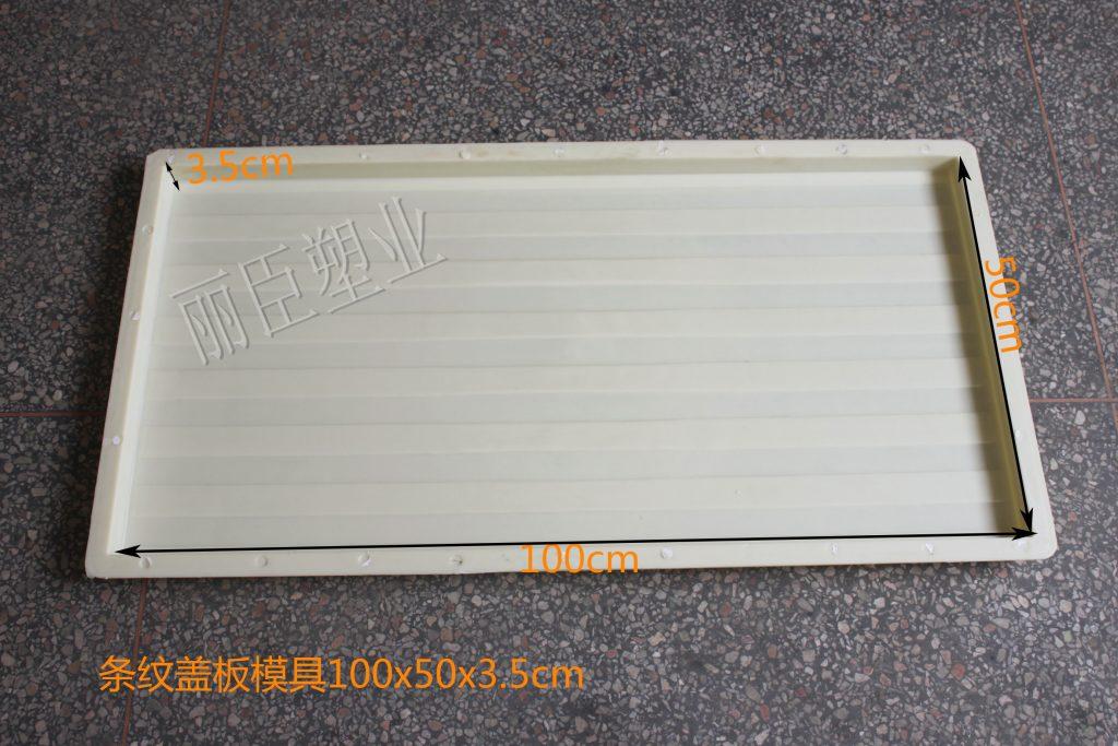 条纹盖板塑料模具
