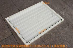 ABS哈牡客专盖板塑料模具