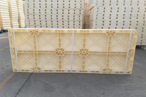 高铁高速桥梁墙体施工塑料建筑模板